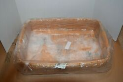 Longaberger 2002 Serving Tray With Protector And Sage Liner New