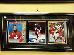 Wayne Gretzky Autographed Picture Framed Canada Cup 1991 New York Rangers