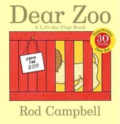 Dear Zoo: A Lift the Flap Book Board book By Campbell Rod GOOD