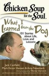 Chicken Soup for the Soul: What I Learned from the Dog: 101 Stories VERY GOOD