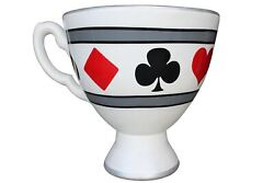 Tea Cup 42 W Giant Wonderland Black And White Over Sized Prop Resin Statue