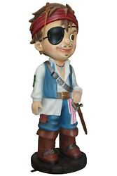 Pirate Child Boy Peter Life Size Statue Resin Decor