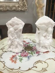 Ardalt Japan Fine Quality Lewile China Colonial Couple Vases