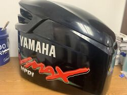 Yamaha Vmax Outboard Hpdi 225 Top Cowl Engine Motor Cover Damaged Parts Useable