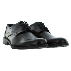 New Van Heusen Men's Larry Black Oxford Style Dress Shoes Variety In Size