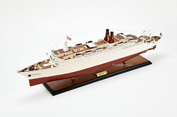 Ss Hanseatic Handcrafted Wooden Ship Model 34