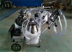 110v/220v,double Buckets Piston Vacuum Milking Machine For Cows,cattle Ci