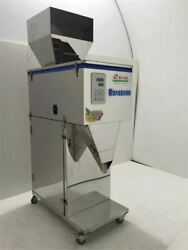 20-5000g Powder Particle Filling Machine For Tea Seed Grain Weigh Filler Cz