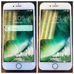 Iphone 8 Screen Glass Repair Service Lcd Free Tempered Glass Fast Lane Express