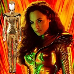 2020 Movie Wonder Woman 1984 Ww84 Cosplay Costume Diana Suit For Girls