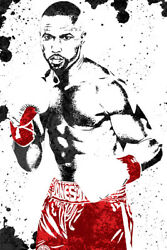 Roy Jones Jr Boxer Art Wall Indoor Room Outdoor Poster POSTER 24x36