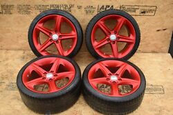 Bmw E82 E88 128 135 18 Front And Rear Light Alloy Rim Wheel Set Staggered Oem