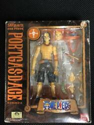 Bandai Figure One Piece S.h.figuarts Portgas D. Ace With Tracking Free Shipping