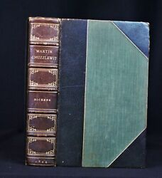 Charles Dickens / The Life And Adventures Of Martin Chuzzlewit 1st Edition 1844