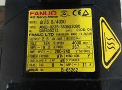 Used 1pc Fanuc A06b-0235-b605s000 Tested Bh