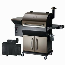 Z Grills Zpg-1000d Wood Pellet Grill Bbq Smoker Digital Control With Cover