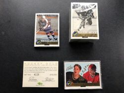 1992 Classic Hockey Gold Wooden Box Set W/bure Brothers Auto 4115/6000