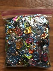 Lot Of 1000 Monster Energy Can Tabs For Monster Gear Assorted Colors Brand New