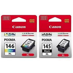 Canon Cartridge PG 145 XL CL 146 XL COMBO 1 BLACK 1 COLOR EXT $59.99