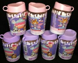 Smooshy Mushy Series 4 Cup 'n Cakes Lot Of 7 Scented Squishys Brand New Sealed