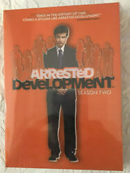 Arrested Development Season 2 Dvd, 3-disc Set. Brand New And Sealed In Plastic
