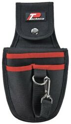 Technics Polyester Power Tool Holster 2-pockets Over Strap Secures Drill