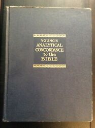 Watchtower Jehovah Original Young's Analytical Concordance To The Bible