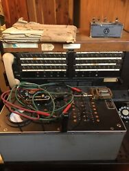 Vintage Antique Bell System Western Electric Telephone Switchboard Usa