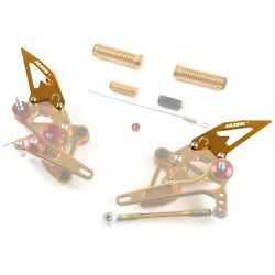 Arashi Rearsets Footrests Replacement Spare Parts Heel Guard 1 Pair Version 2.0