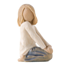 Willow Tree Joyful Child Sculpted Hand-painted Figure