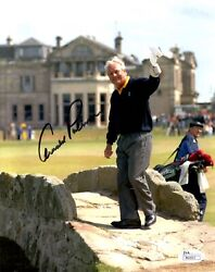 Arnold Palmer Hand Signed 8x10 Color Photo  British Open Farewell  Jsa