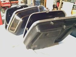 Harley FXRT FXR FXRD Saddlebags Clamshell Early Design Touring Bags