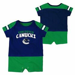 Nhl Vancouver Canucks Infant Outfit 0/3 Months Baby, Gift Nwt