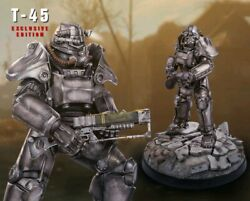 Fallout T-45 Power Armor Statue Exclusive Version Nib Ltd To 500 Sold Out
