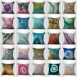 Set Of 20 Marble Gemstone Abstract At Home Store Cushions