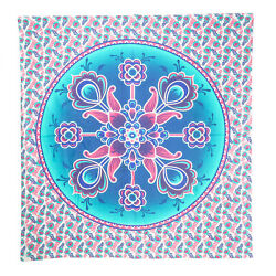 Floral Mandala Tapestry Wall Hanging Art Deco Indian Bedding Dorm Decor Tapestry