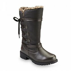 Women#x27;s Totes Waterproof Winter Duluth Boots Brown Size 9M NEW Without Box $32.00