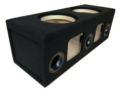 Custom Ported Subwoofer Box Enclosure For 2 12 Rockford Fosgate T1 Subs Birch
