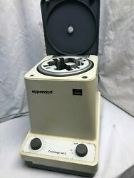Eppendorf 5413 With Rotor That Accepts Racks Of Tubes No Racks Included