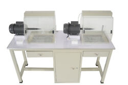 110v Multi-function Table Double Polishing Machine Gold And Silver Jewellery Jewel