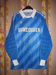 Rare Canada Mls Goalkeeper Match Worn Shirt Jersey Vancouver Whitecaps 80and039s 1