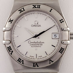Omega Andomega Constellation Chronometer Stainless Steel Menand039s Automatic Watch