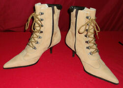 Adorable DOLLHOUSE Chase Size 7.5  Fashion Ankle Stiletto Heel Boots pointed toe $34.95
