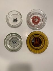 Lot Of 4 Red Garter Mgm Hotel Casino Wendover Jackpot Nevada Vintage Ashtray