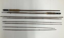 Vintage Tonkin Cane Governor And Modernist Fly Fishing Rods A-x