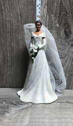 Hamilton Collection Michelle Obama Figurine Graceful Bride Numbered Ed 0706a
