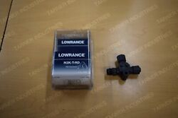 Lowrance N2k-t-rd Tee Connector 119-79 Nmea 2000 Network Connector Electronics