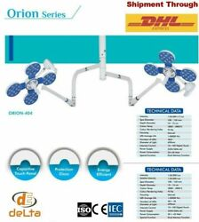 Orion 404 Led Ot Surgical Lights Surgical Operation Theater Ceiling/wall Mount @