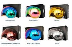 NIB Replacement Lenses for Dragon X1s Snow Goggles Multiple Colors Ski Snowboard