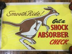 Vintage 1950and039s Private Collection Of 25 Authentic Gas Station Posters